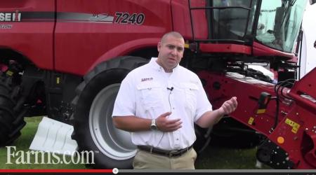 Combine specialist giving pre-harvest combine preparation tips.