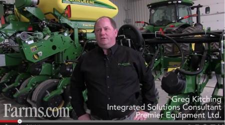 Integrated Solutions Consultant giving pre-season planter tips